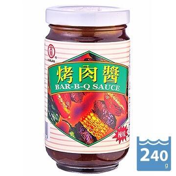 【金蘭】烤肉醬 BAR-B-Q SAUCE-240g